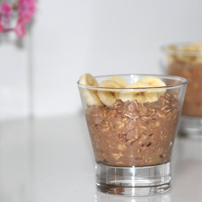 peanutbutter banana oatmeal